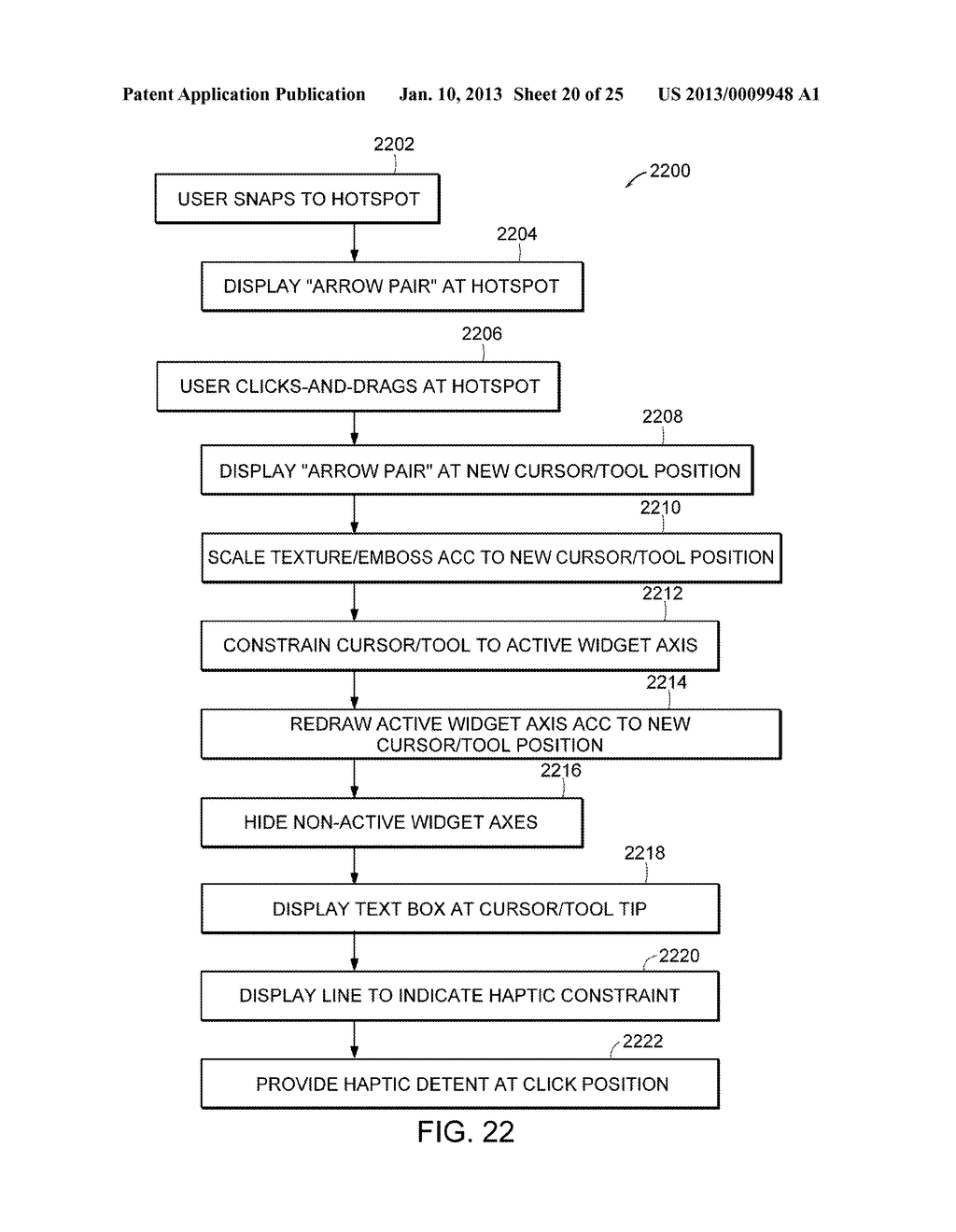 Apparatus and Methods for Wrapping Texture onto the Surface of a Virtual     Object - diagram, schematic, and image 21