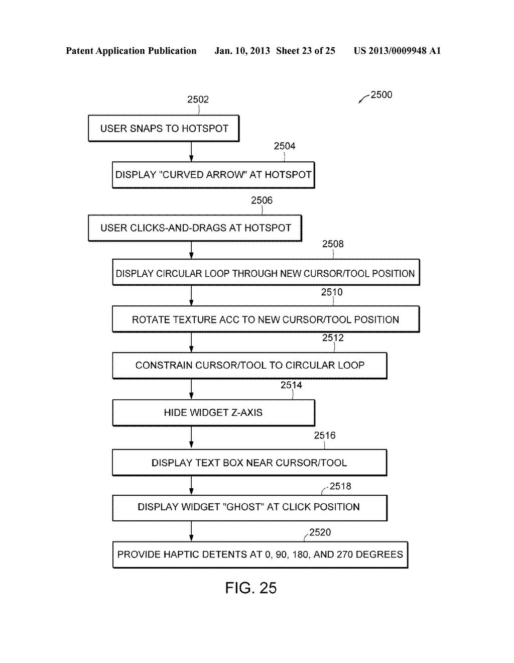 Apparatus and Methods for Wrapping Texture onto the Surface of a Virtual     Object - diagram, schematic, and image 24