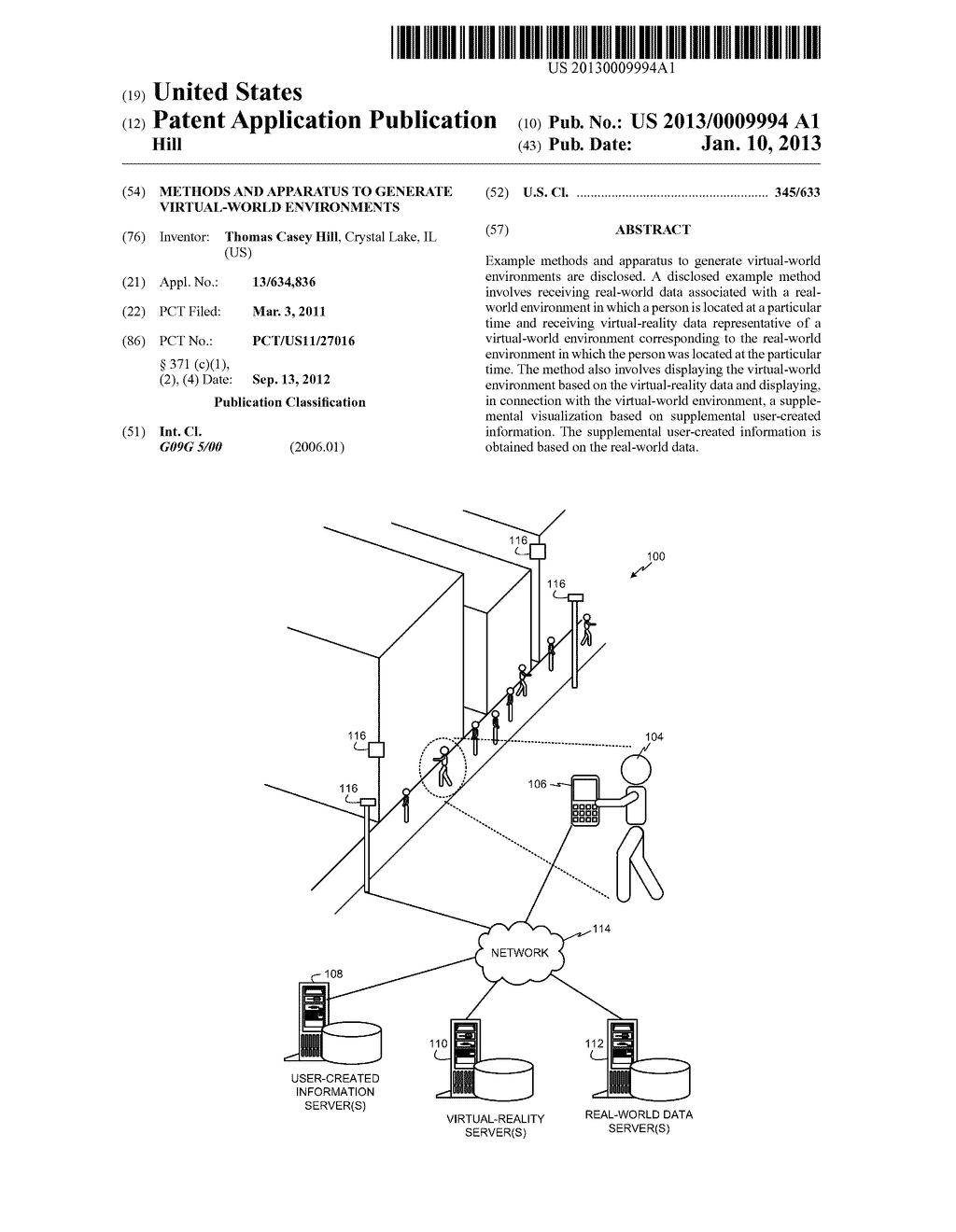 METHODS AND APPARATUS TO GENERATE VIRTUAL-WORLD ENVIRONMENTS - diagram, schematic, and image 01