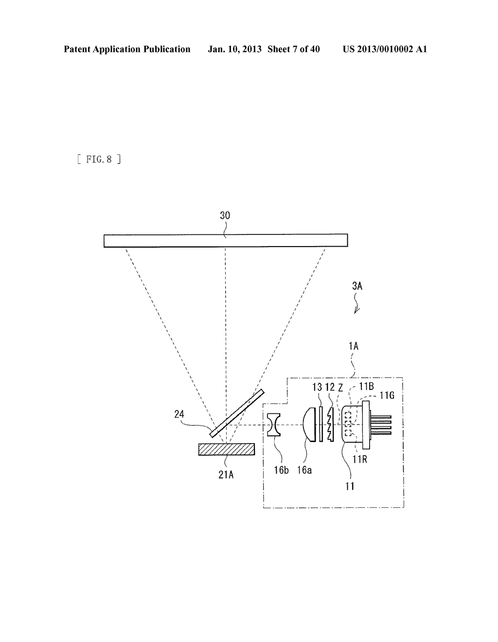 ILLUMINATION UNIT AND DISPLAY - diagram, schematic, and image 08