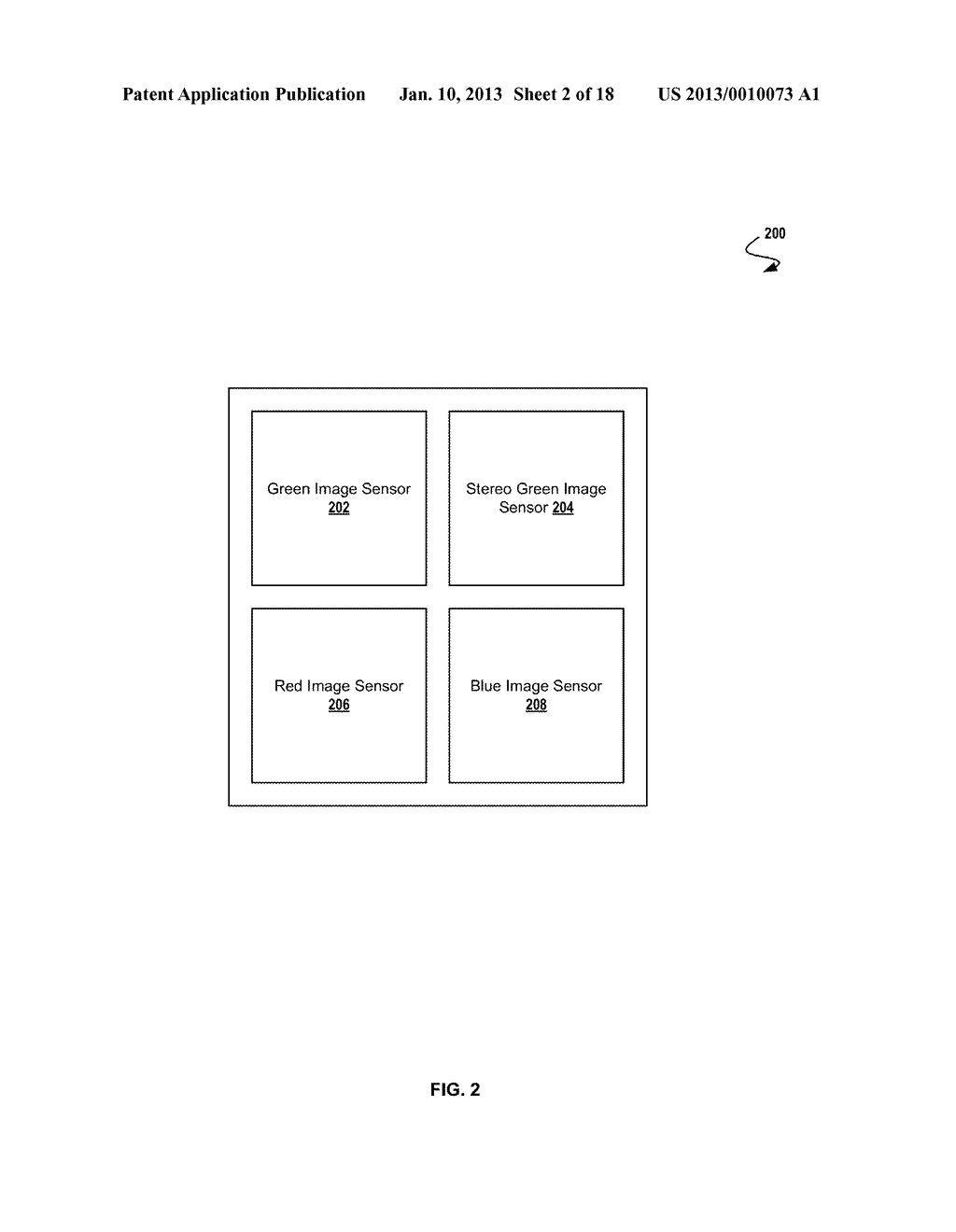 SYSTEM AND METHOD FOR GENERATING A DEPTH MAP AND FUSING IMAGES FROM A     CAMERA ARRAY - diagram, schematic, and image 03