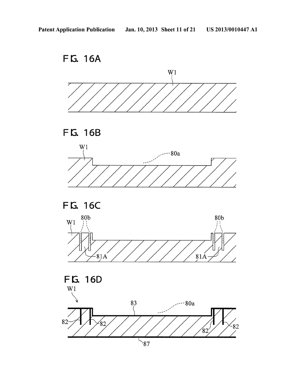 PACKAGED DEVICE AND METHOD OF FABRICATING PACKAGED-DEVICE - diagram, schematic, and image 12