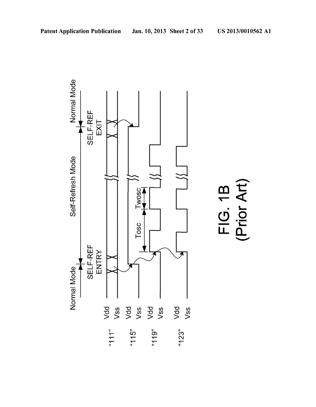 DYNAMIC RANDOM ACCESS MEMORY DEVICE AND METHOD FOR SELF-REFRESHING MEMORY     CELLS WITH TEMPERATURE COMPENSATED SELF-REFRESH - diagram, schematic, and image 03