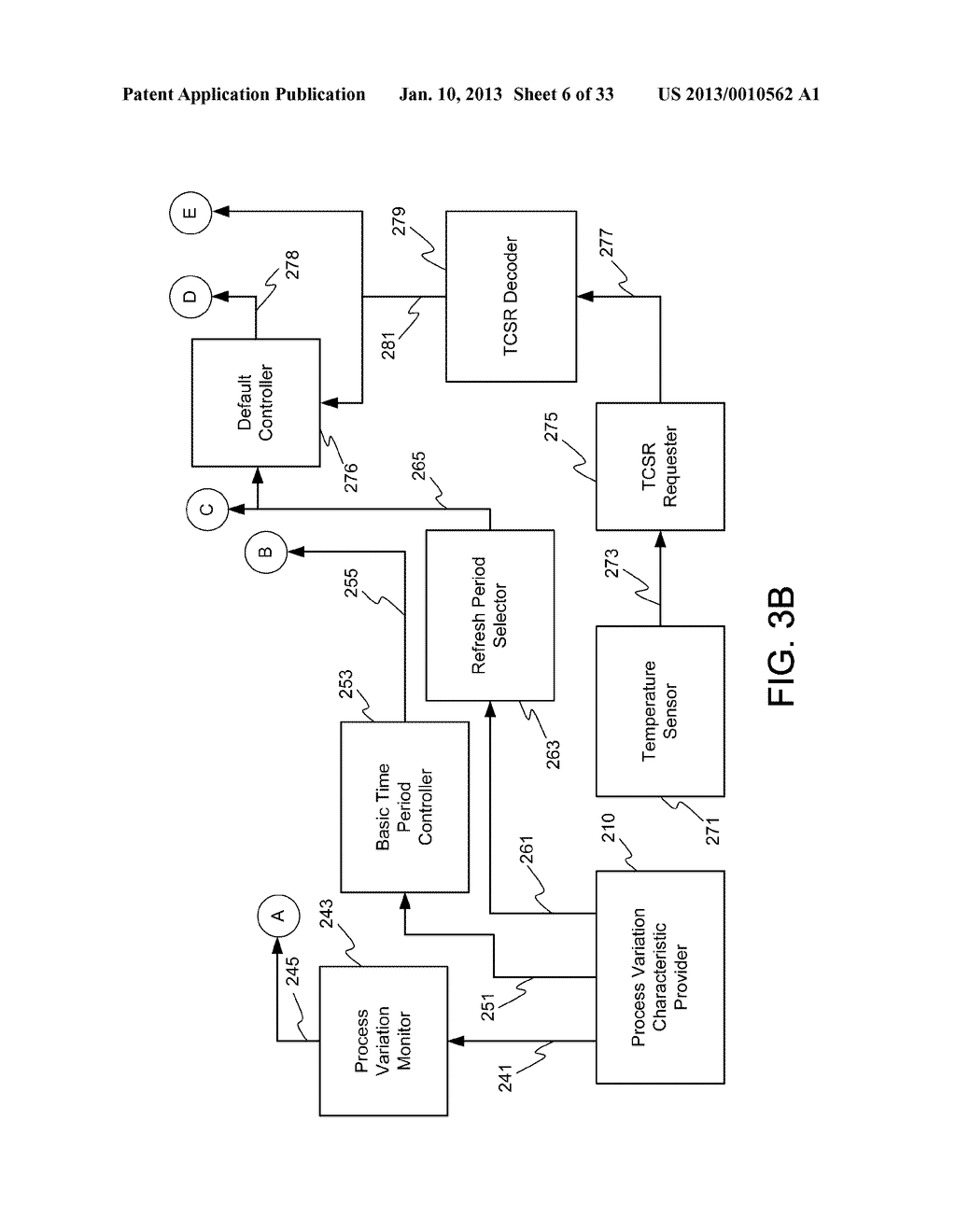 DYNAMIC RANDOM ACCESS MEMORY DEVICE AND METHOD FOR SELF-REFRESHING MEMORY     CELLS WITH TEMPERATURE COMPENSATED SELF-REFRESH - diagram, schematic, and image 07
