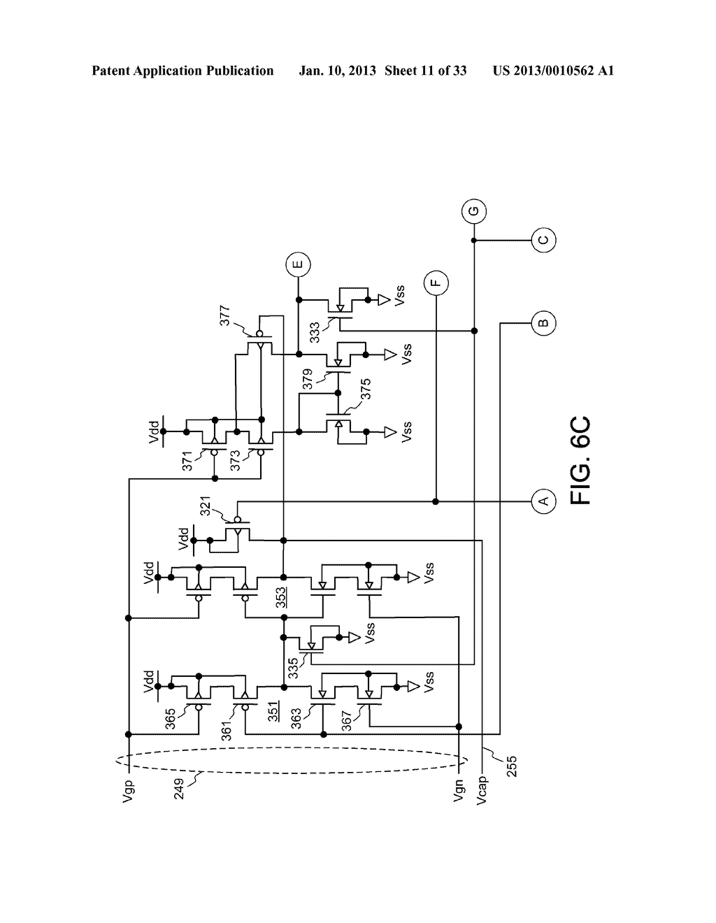 DYNAMIC RANDOM ACCESS MEMORY DEVICE AND METHOD FOR SELF-REFRESHING MEMORY     CELLS WITH TEMPERATURE COMPENSATED SELF-REFRESH - diagram, schematic, and image 12