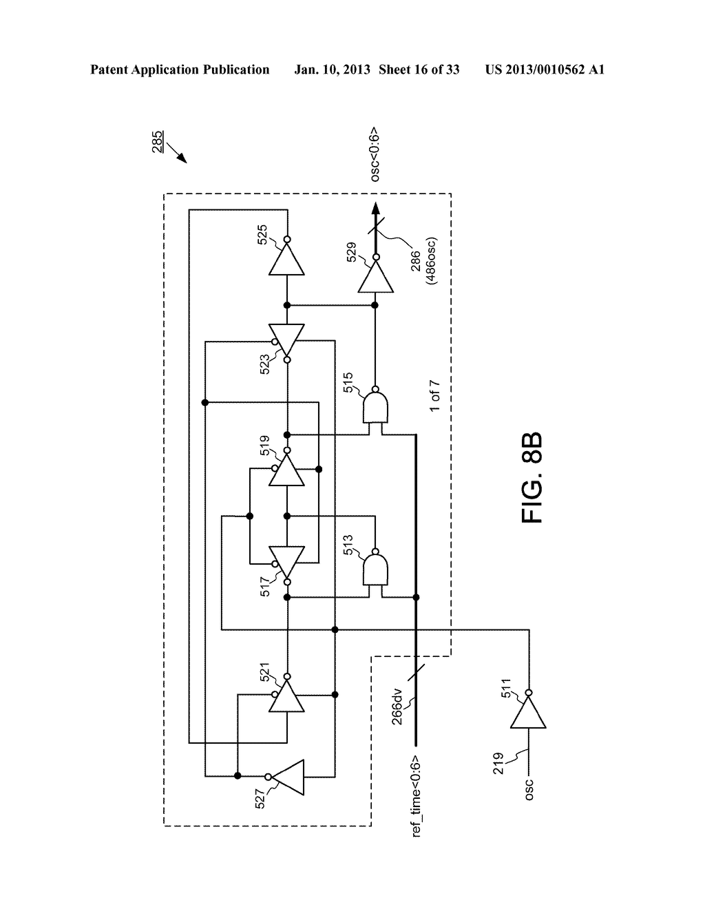 DYNAMIC RANDOM ACCESS MEMORY DEVICE AND METHOD FOR SELF-REFRESHING MEMORY     CELLS WITH TEMPERATURE COMPENSATED SELF-REFRESH - diagram, schematic, and image 17