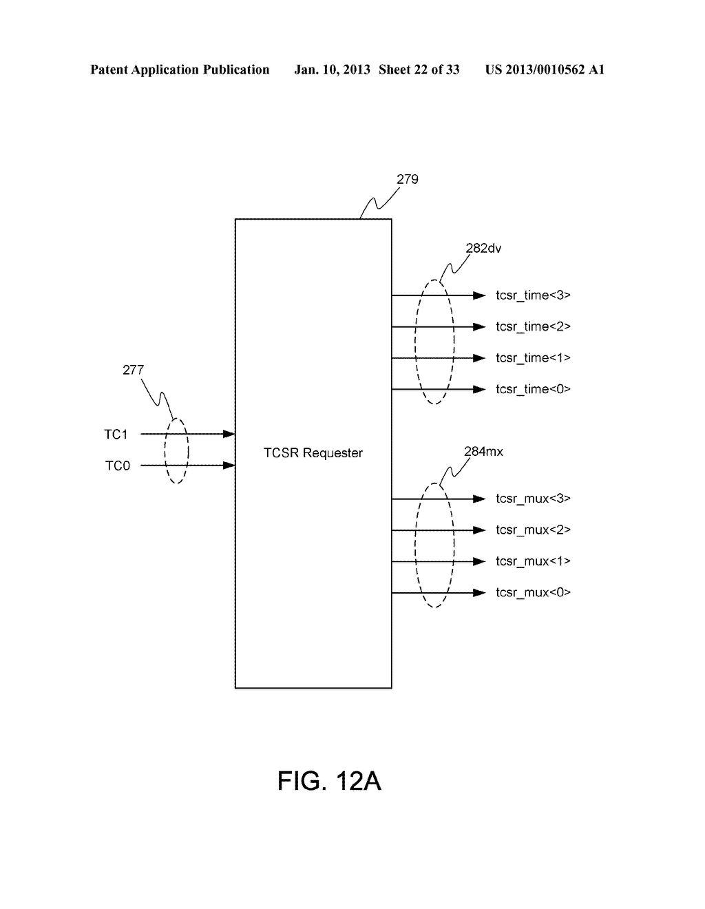 DYNAMIC RANDOM ACCESS MEMORY DEVICE AND METHOD FOR SELF-REFRESHING MEMORY     CELLS WITH TEMPERATURE COMPENSATED SELF-REFRESH - diagram, schematic, and image 23