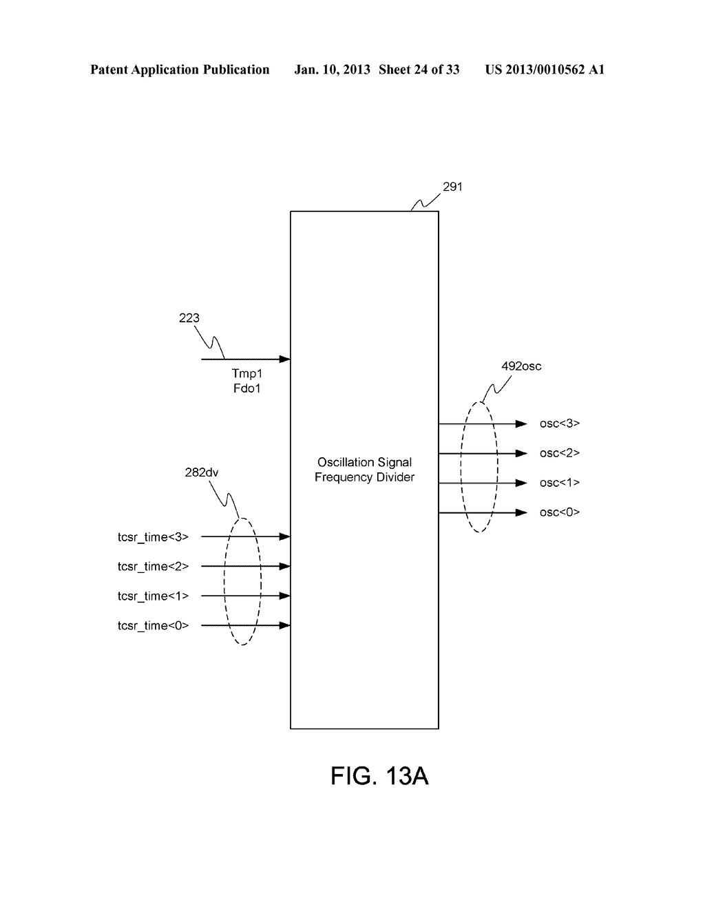 DYNAMIC RANDOM ACCESS MEMORY DEVICE AND METHOD FOR SELF-REFRESHING MEMORY     CELLS WITH TEMPERATURE COMPENSATED SELF-REFRESH - diagram, schematic, and image 25