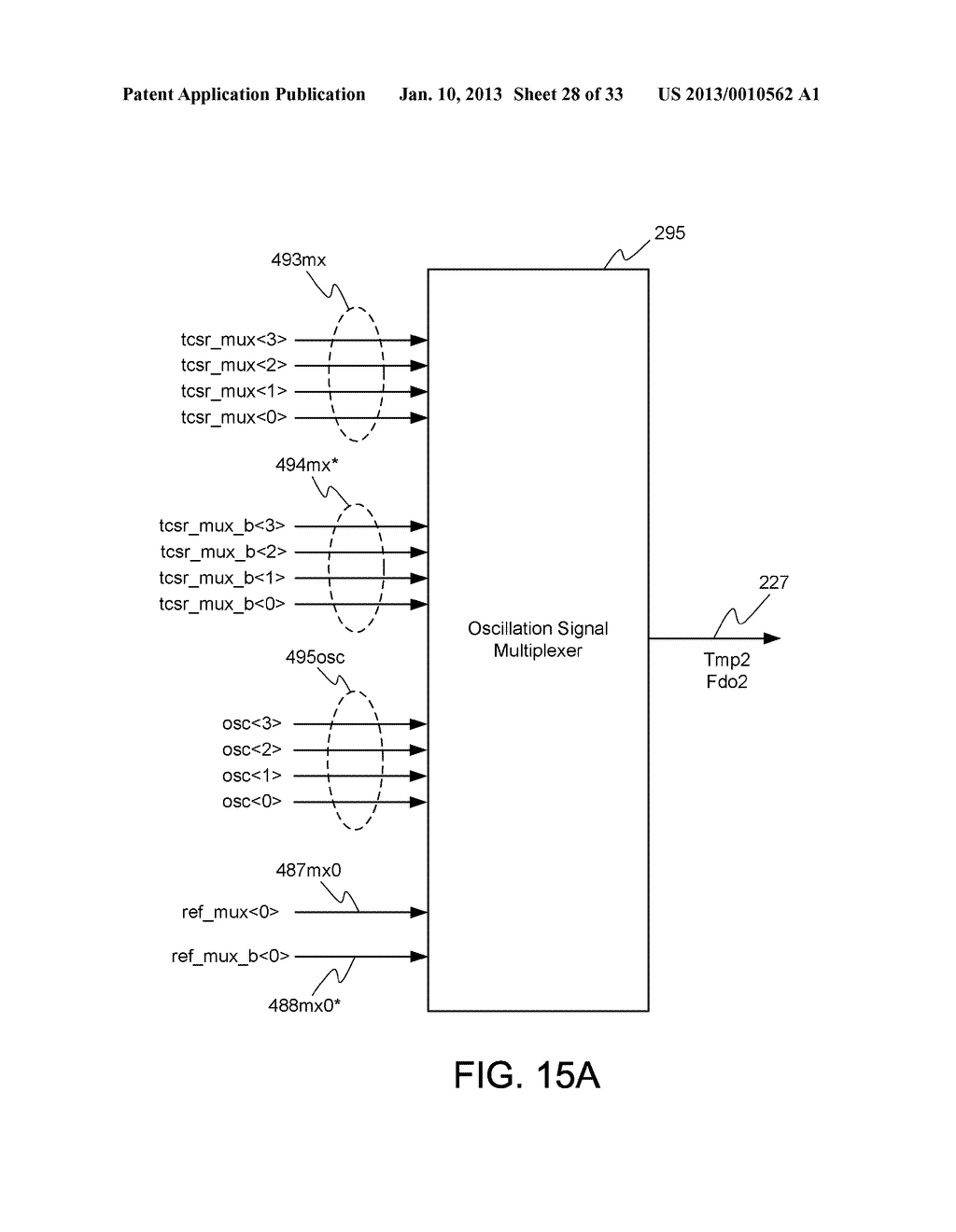 DYNAMIC RANDOM ACCESS MEMORY DEVICE AND METHOD FOR SELF-REFRESHING MEMORY     CELLS WITH TEMPERATURE COMPENSATED SELF-REFRESH - diagram, schematic, and image 29