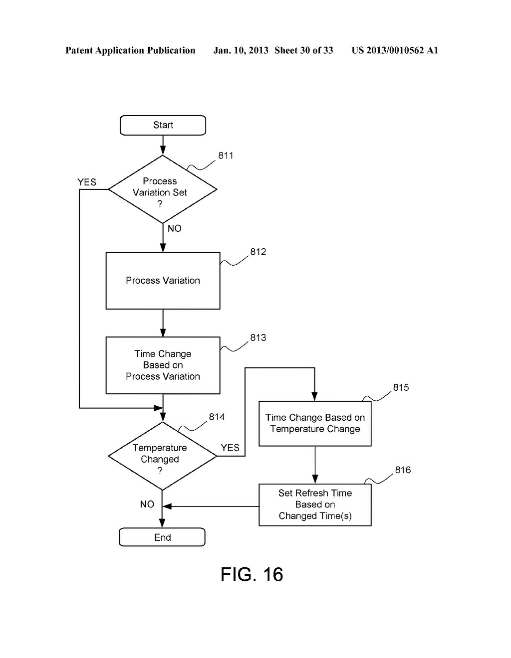 DYNAMIC RANDOM ACCESS MEMORY DEVICE AND METHOD FOR SELF-REFRESHING MEMORY     CELLS WITH TEMPERATURE COMPENSATED SELF-REFRESH - diagram, schematic, and image 31