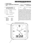 ANALOG QUARTZ TIMEPIECE AND METHOD FOR PROVIDING TIME-CORRECTION OF THE     SAME diagram and image