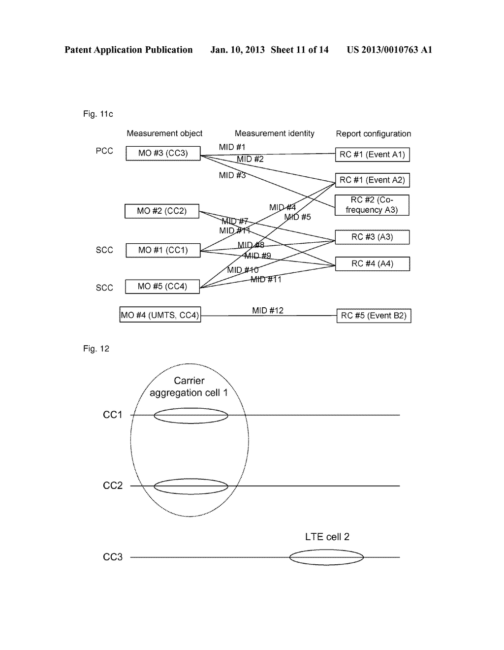 Method And System For Processing Measurement Task In Carrier Aggregation     System - diagram, schematic, and image 12