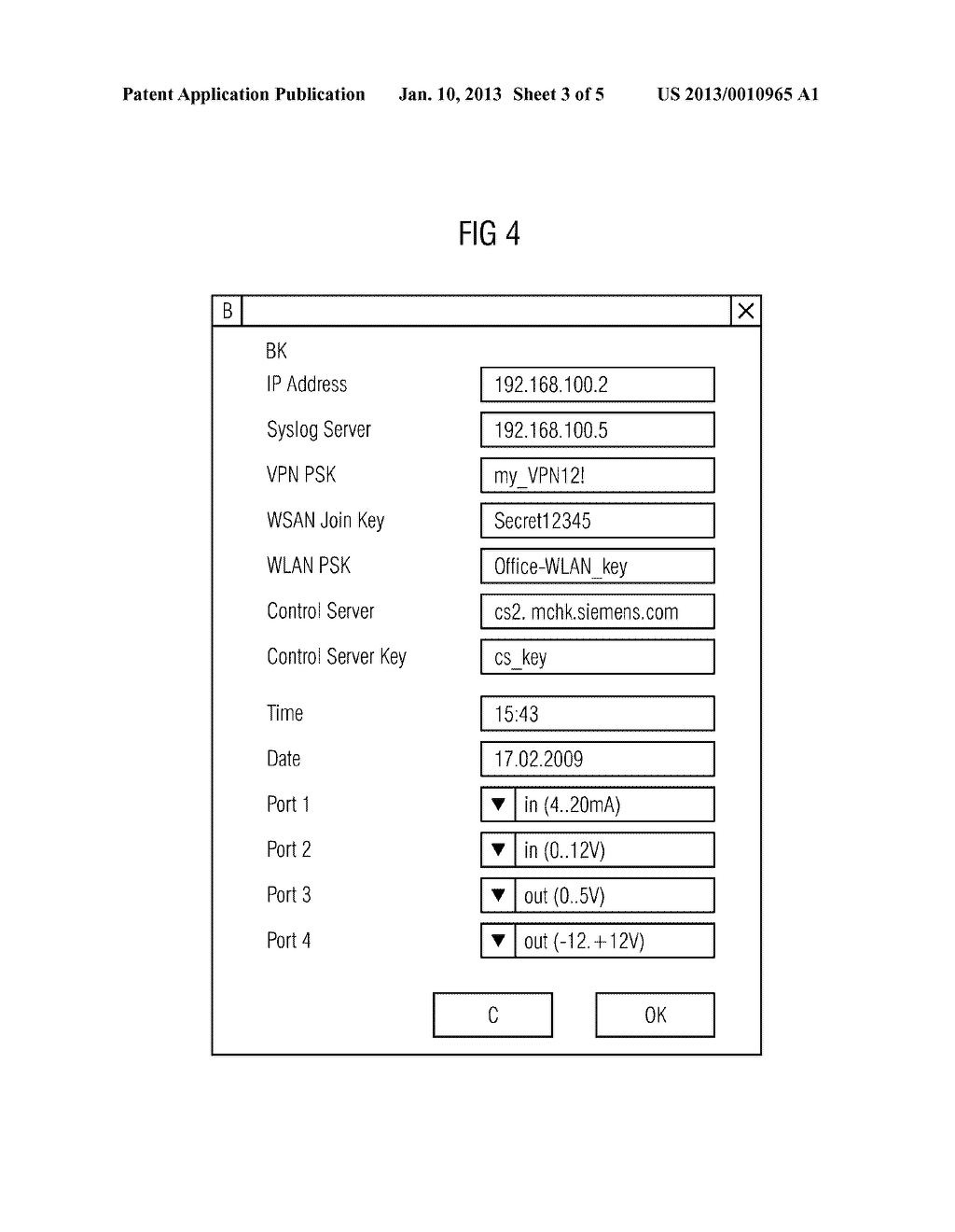 METHOD AND DEVICE FOR PROVIDING AT LEAST ONE SECURE CRYPTOGRAPHIC KEY - diagram, schematic, and image 04