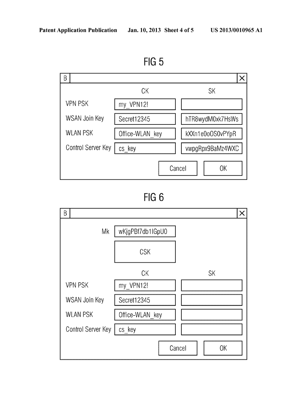 METHOD AND DEVICE FOR PROVIDING AT LEAST ONE SECURE CRYPTOGRAPHIC KEY - diagram, schematic, and image 05