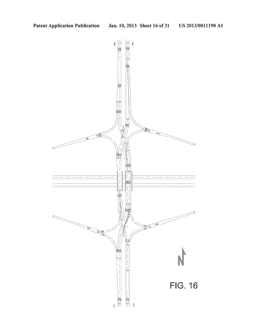 Double Crossover Merging Interchange Diagram Schematic And Image 17