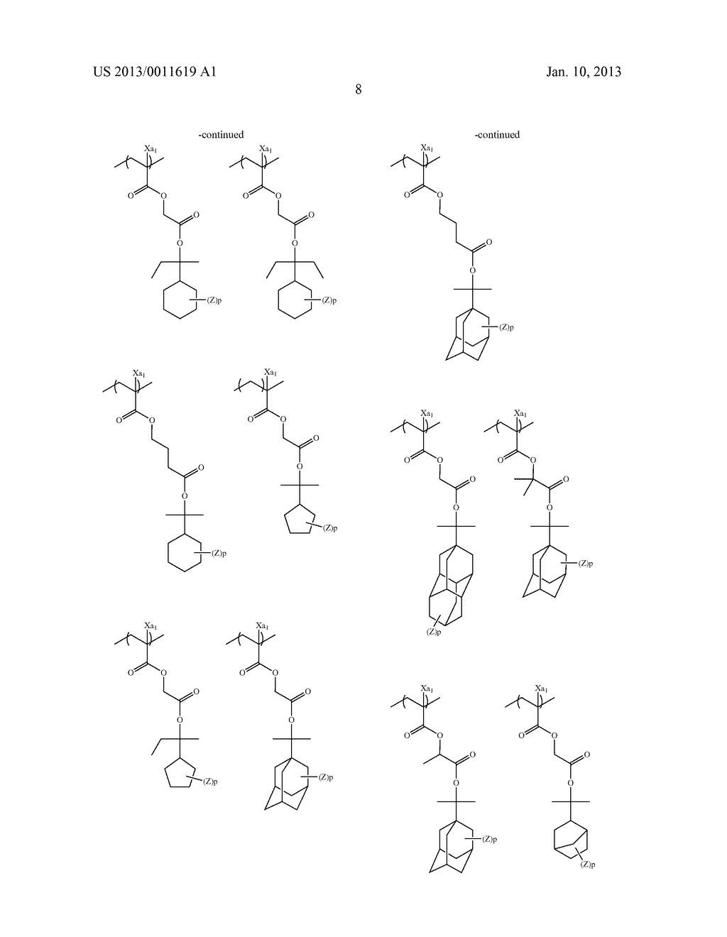 PATTERN FORMING METHOD, CHEMICAL AMPLIFICATION RESIST COMPOSITION AND     RESIST FILM - diagram, schematic, and image 10