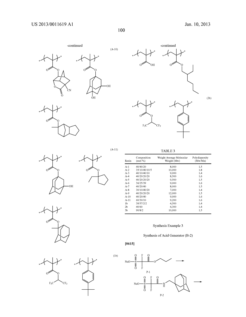 PATTERN FORMING METHOD, CHEMICAL AMPLIFICATION RESIST COMPOSITION AND     RESIST FILM - diagram, schematic, and image 102