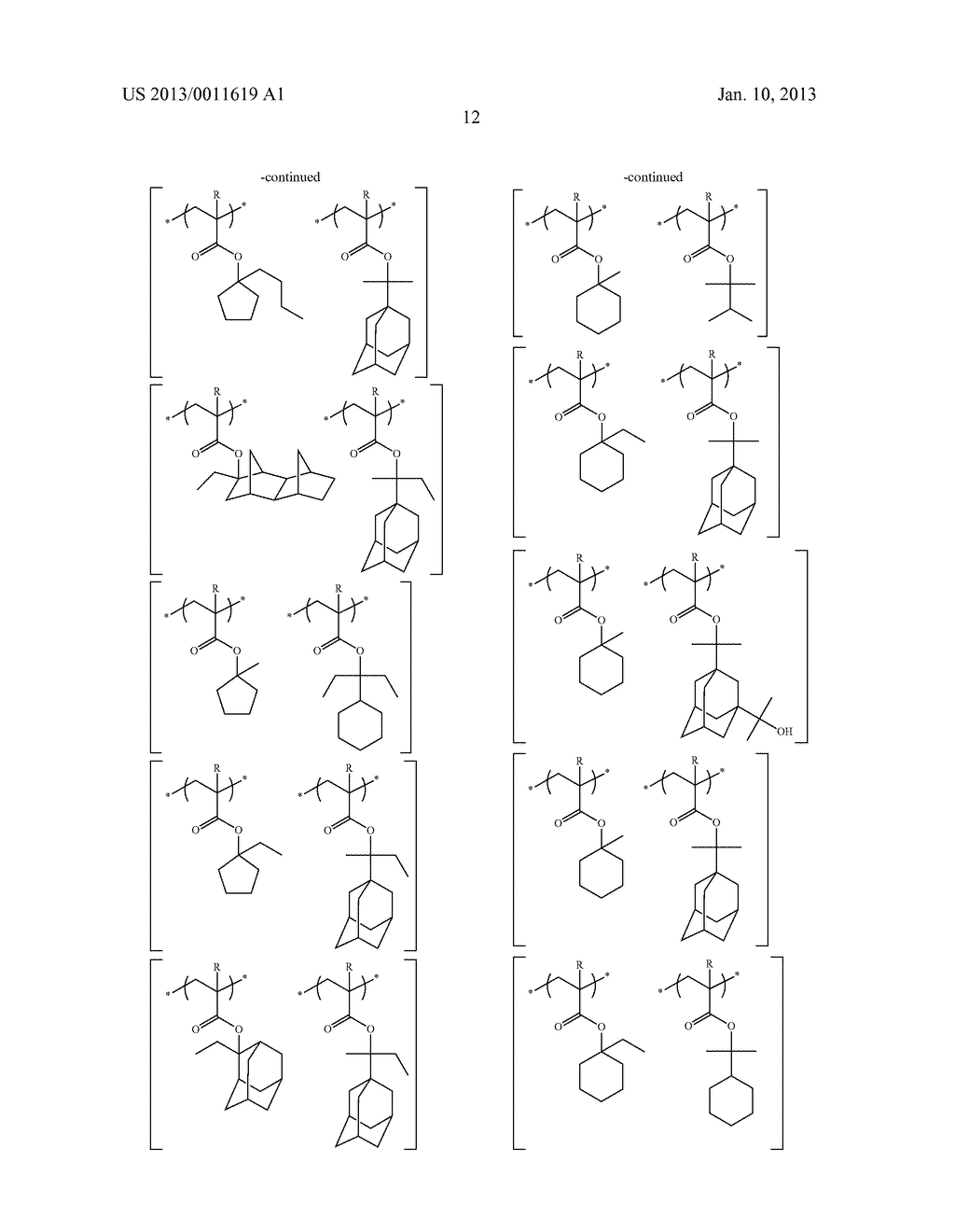 PATTERN FORMING METHOD, CHEMICAL AMPLIFICATION RESIST COMPOSITION AND     RESIST FILM - diagram, schematic, and image 14