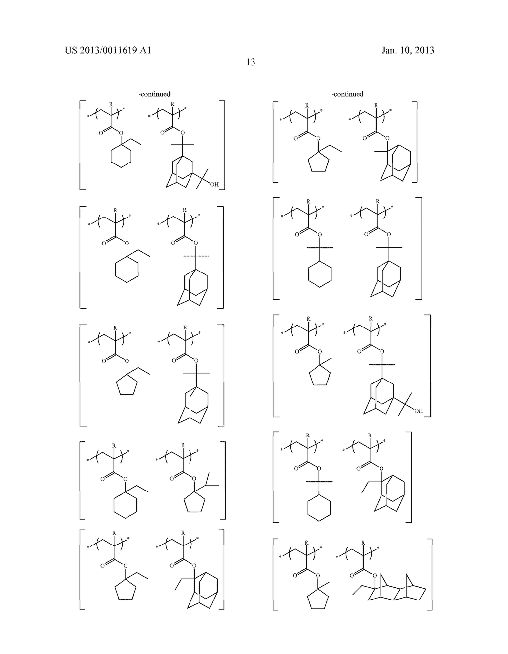 PATTERN FORMING METHOD, CHEMICAL AMPLIFICATION RESIST COMPOSITION AND     RESIST FILM - diagram, schematic, and image 15