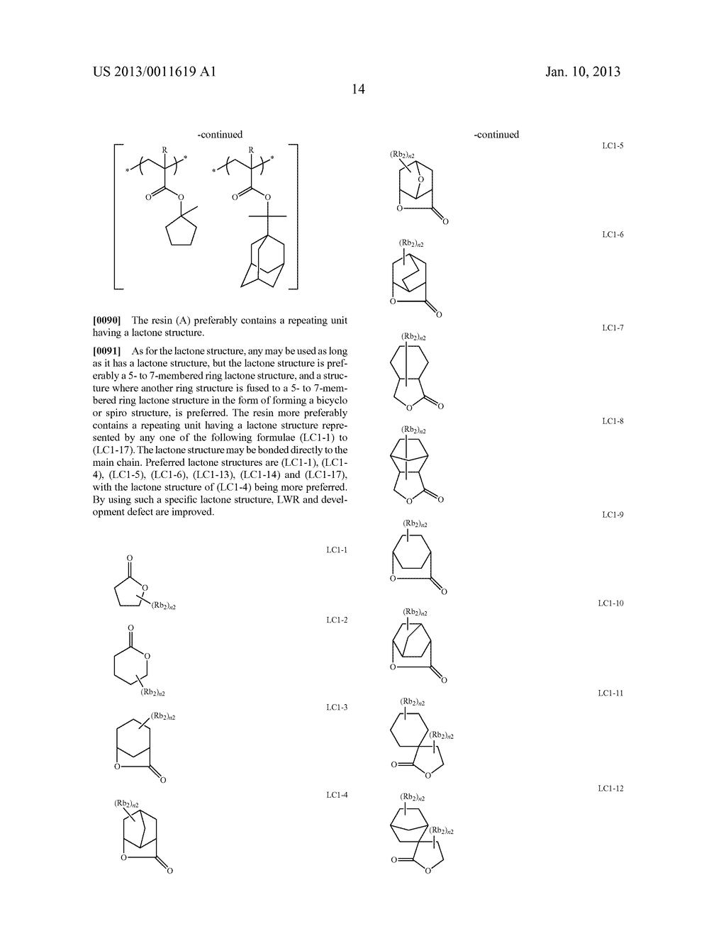 PATTERN FORMING METHOD, CHEMICAL AMPLIFICATION RESIST COMPOSITION AND     RESIST FILM - diagram, schematic, and image 16
