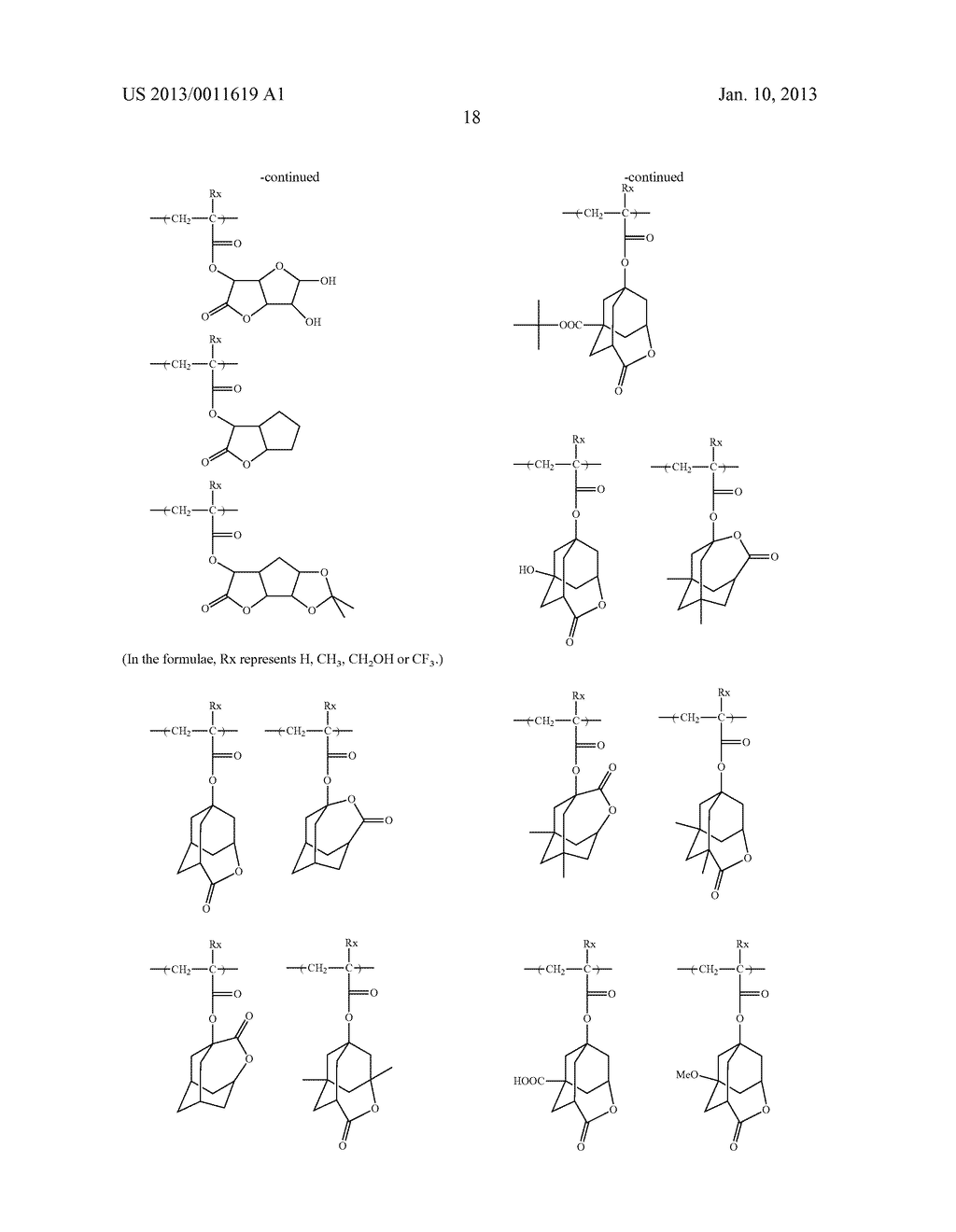 PATTERN FORMING METHOD, CHEMICAL AMPLIFICATION RESIST COMPOSITION AND     RESIST FILM - diagram, schematic, and image 20