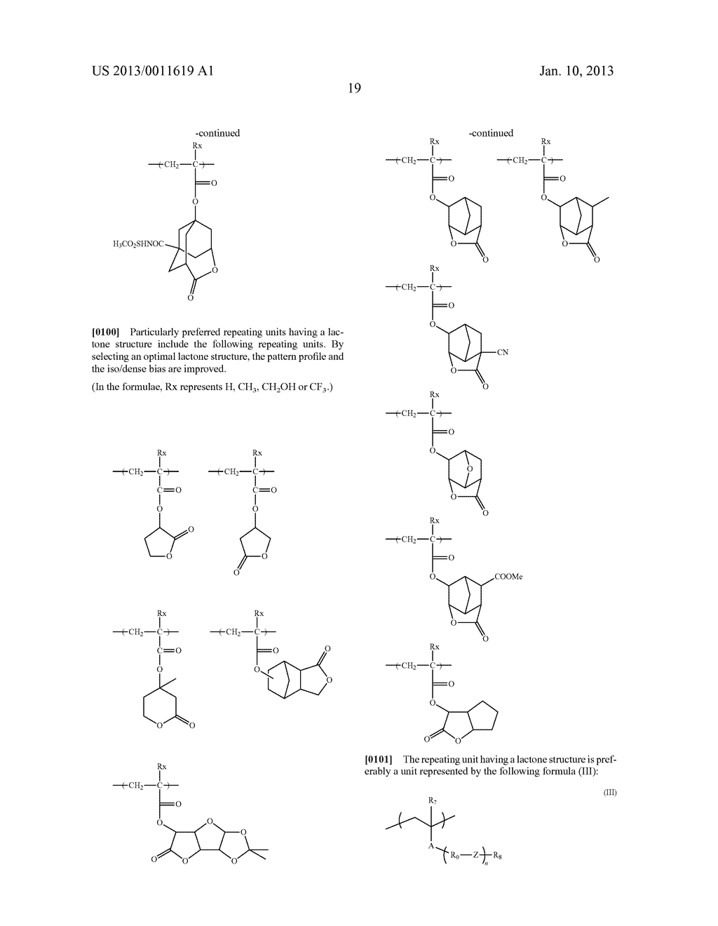 PATTERN FORMING METHOD, CHEMICAL AMPLIFICATION RESIST COMPOSITION AND     RESIST FILM - diagram, schematic, and image 21