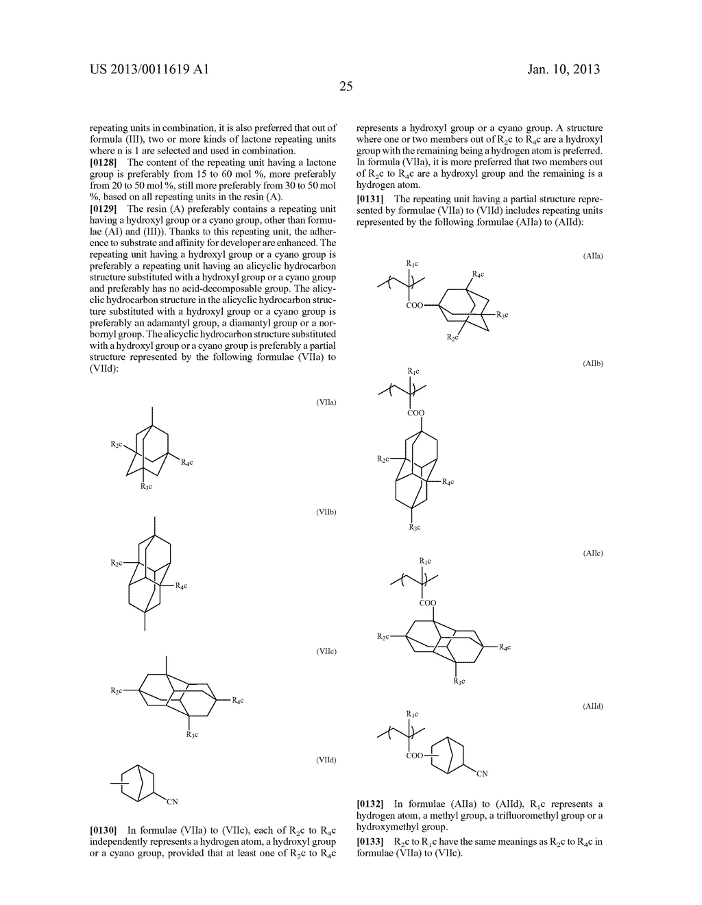PATTERN FORMING METHOD, CHEMICAL AMPLIFICATION RESIST COMPOSITION AND     RESIST FILM - diagram, schematic, and image 27