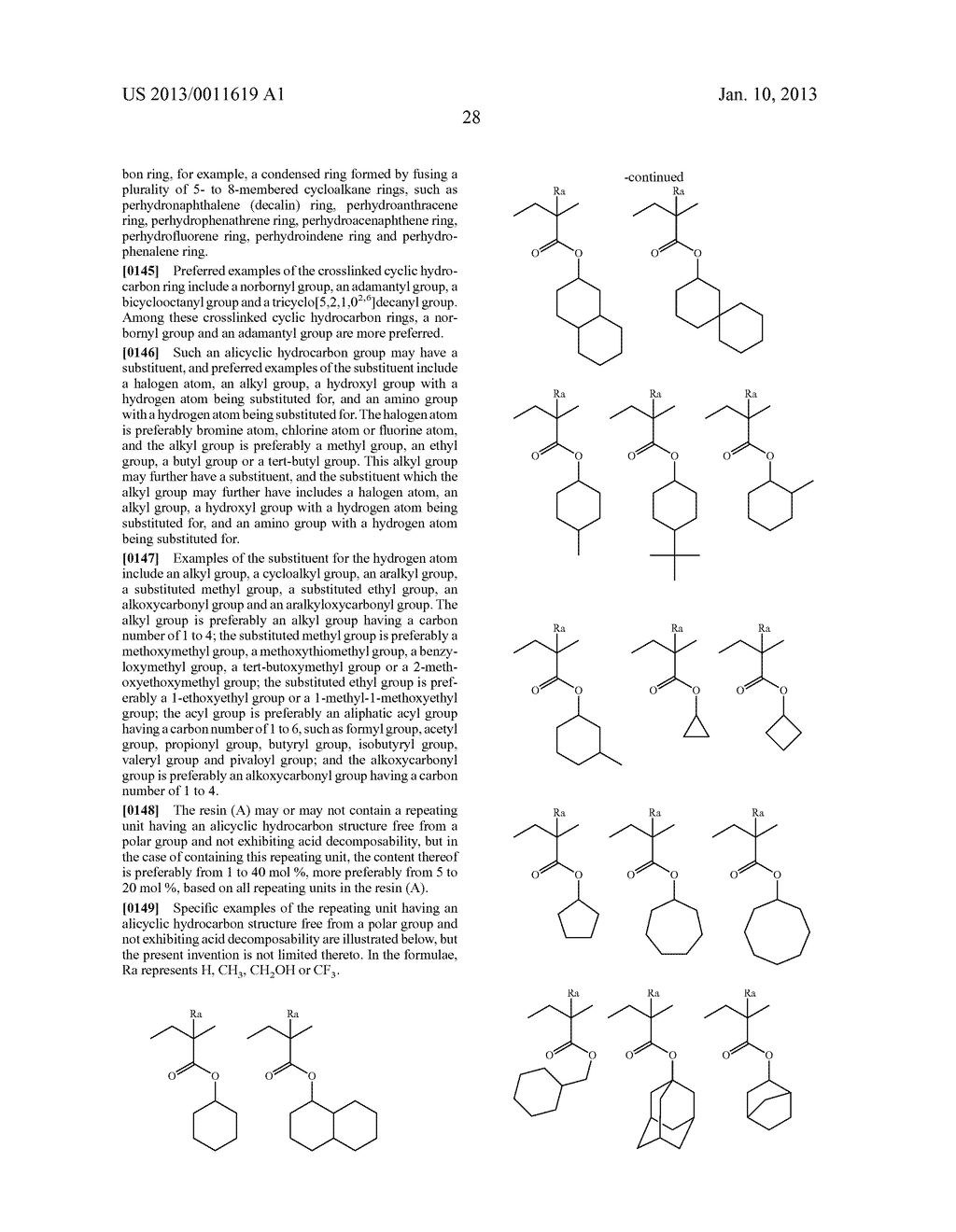 PATTERN FORMING METHOD, CHEMICAL AMPLIFICATION RESIST COMPOSITION AND     RESIST FILM - diagram, schematic, and image 30