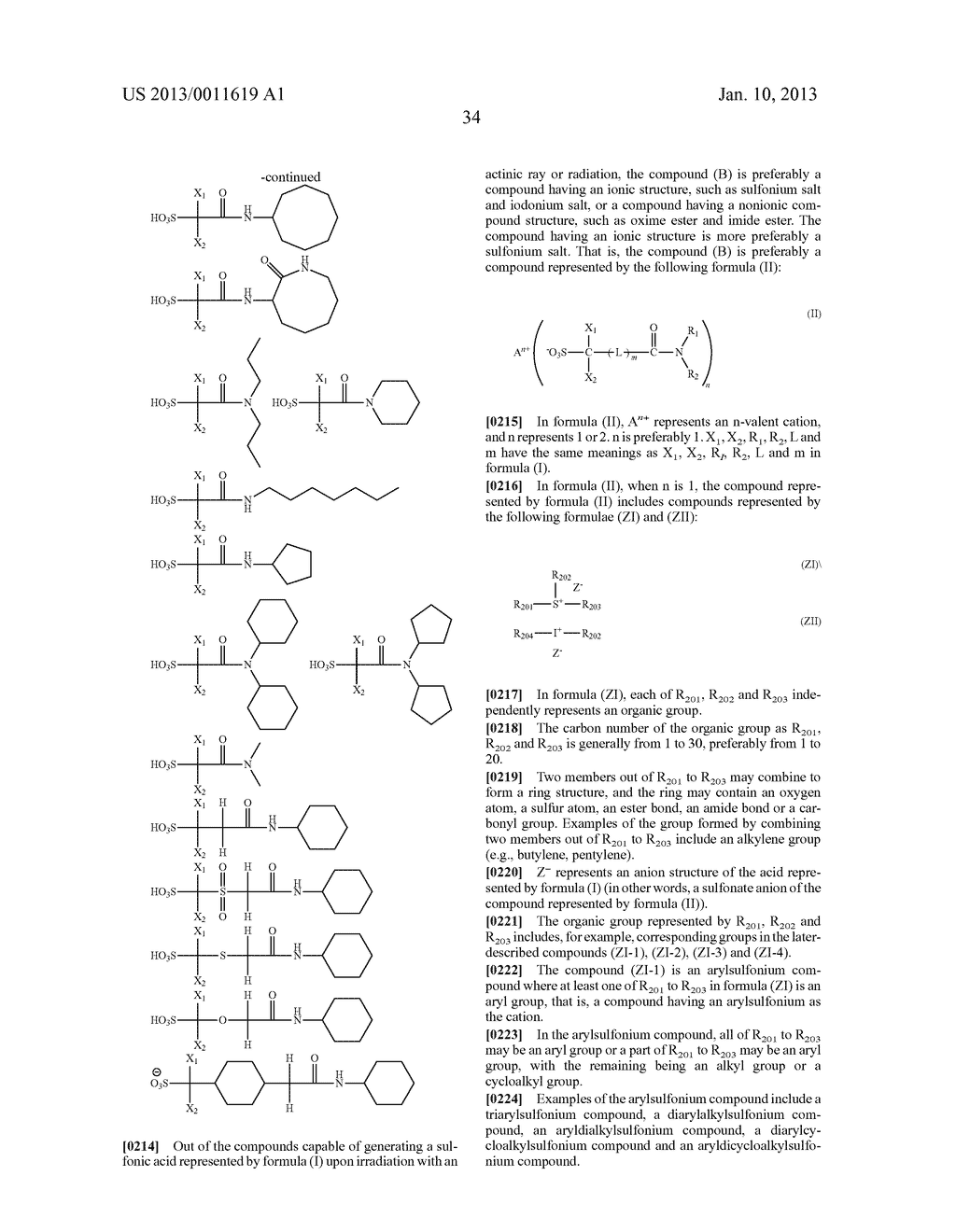 PATTERN FORMING METHOD, CHEMICAL AMPLIFICATION RESIST COMPOSITION AND     RESIST FILM - diagram, schematic, and image 36