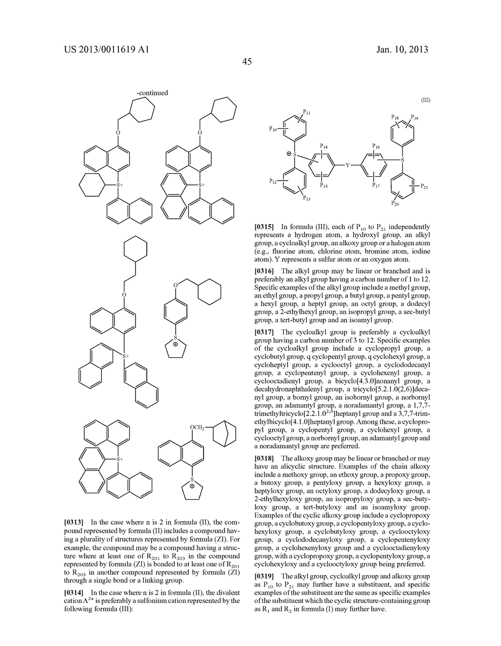 PATTERN FORMING METHOD, CHEMICAL AMPLIFICATION RESIST COMPOSITION AND     RESIST FILM - diagram, schematic, and image 47