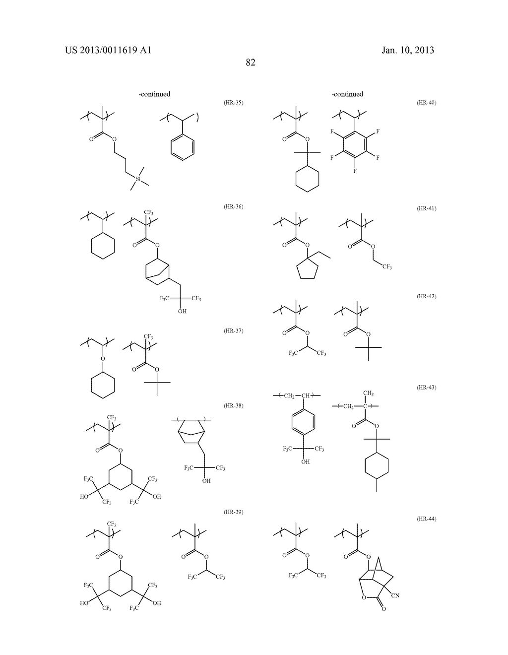 PATTERN FORMING METHOD, CHEMICAL AMPLIFICATION RESIST COMPOSITION AND     RESIST FILM - diagram, schematic, and image 84