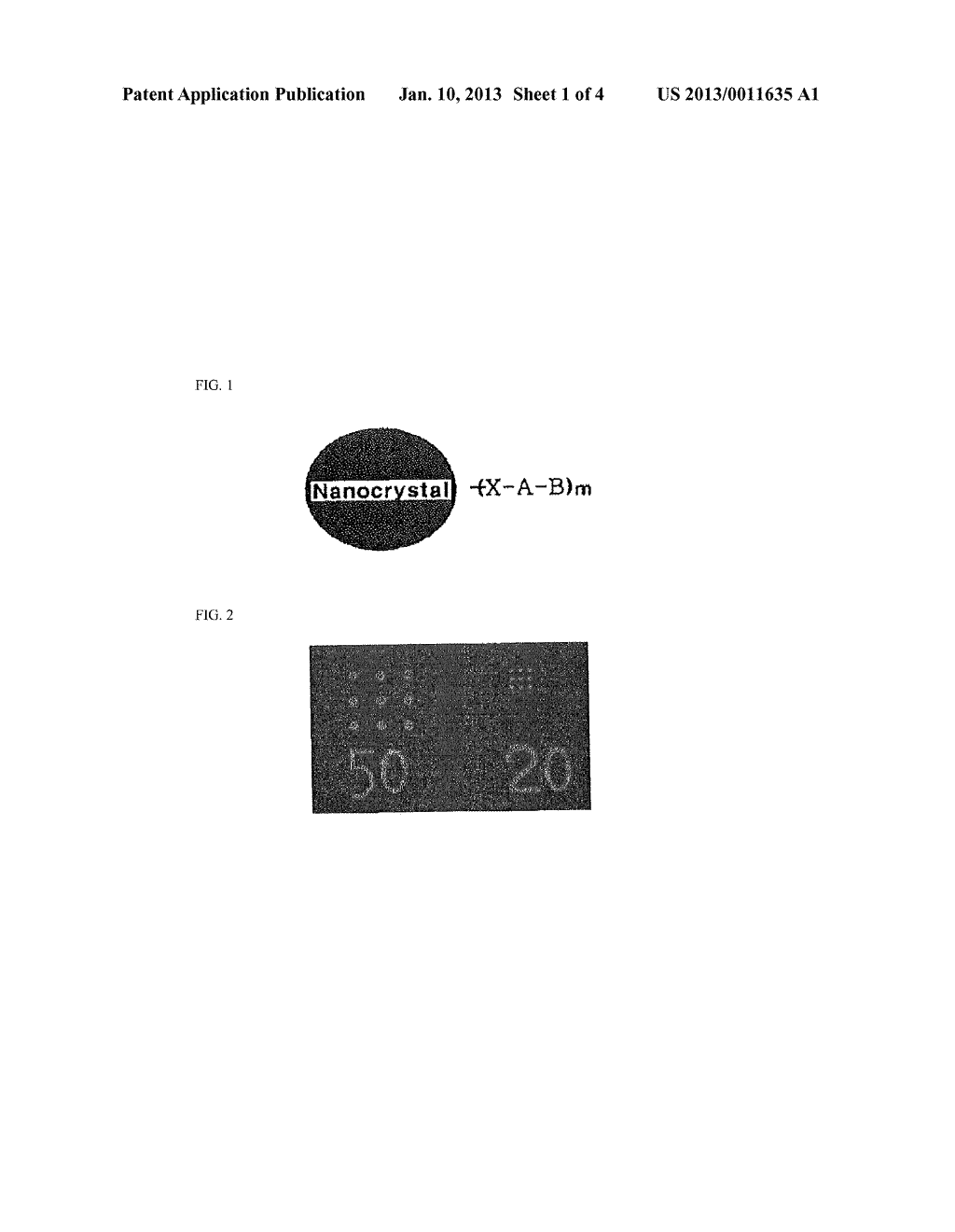 PHOTOSENSITIVE SEMICONDUCTOR NANOCRYSTALS, PHOTOSENSITIVE COMPOSITION     COMPRISING SEMICONDUCTOR NANOCRYSTALS AND METHOD FOR FORMING     SEMICONDUCTOR NANOCRYSTAL PATTERN USING THE SAME - diagram, schematic, and image 02