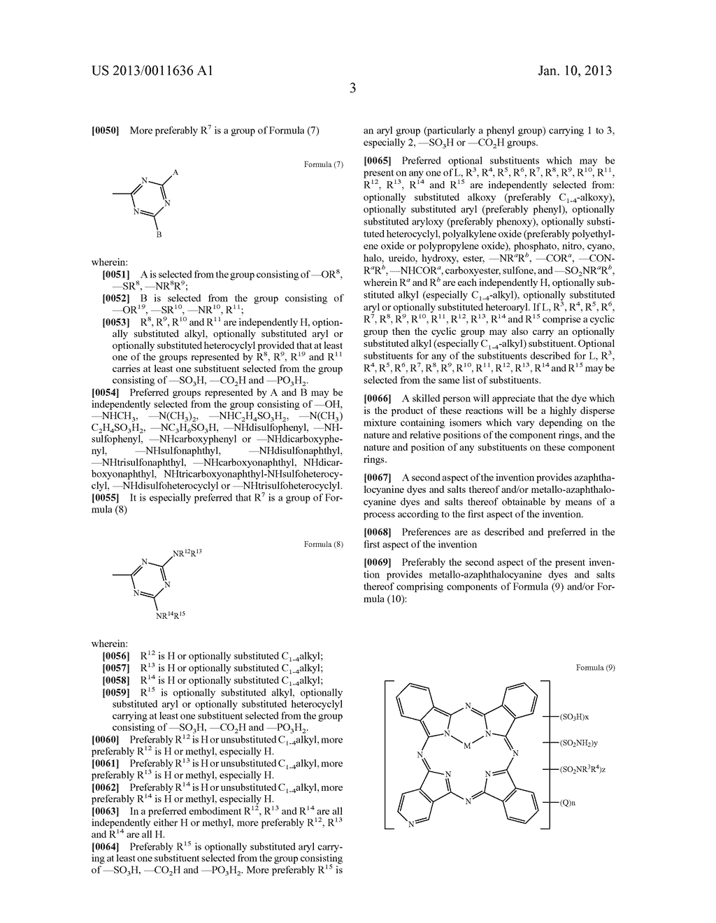 Azaphthalocyanines and Their use in Ink Jet Printing - diagram, schematic, and image 04