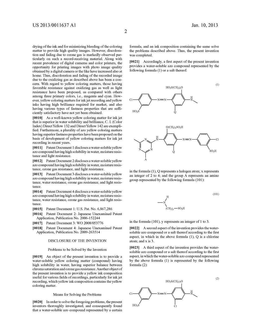 WATER-SOLUBLE AZO COMPOUND OR SALT THEREOF, INK COMPOSITION, AND COLORED     BODY - diagram, schematic, and image 03