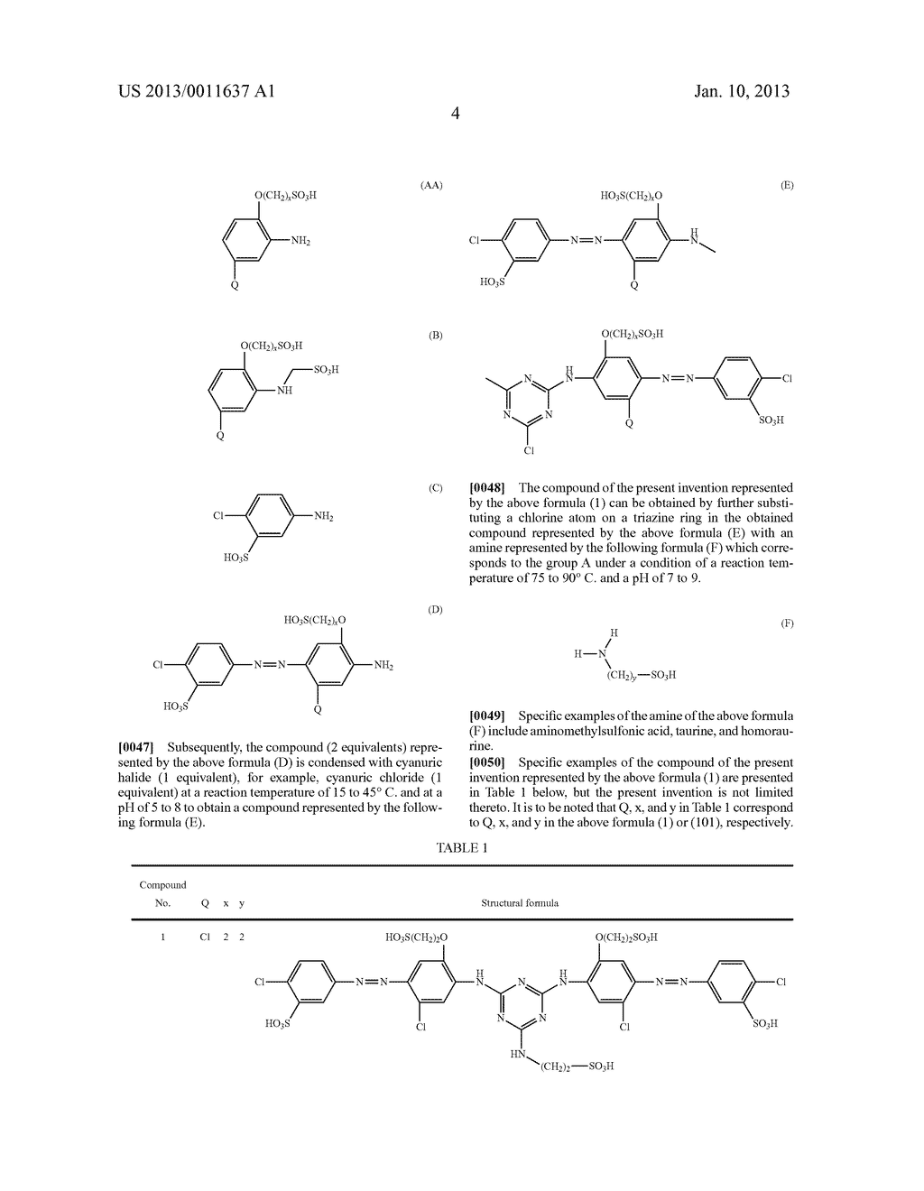 WATER-SOLUBLE AZO COMPOUND OR SALT THEREOF, INK COMPOSITION, AND COLORED     BODY - diagram, schematic, and image 05