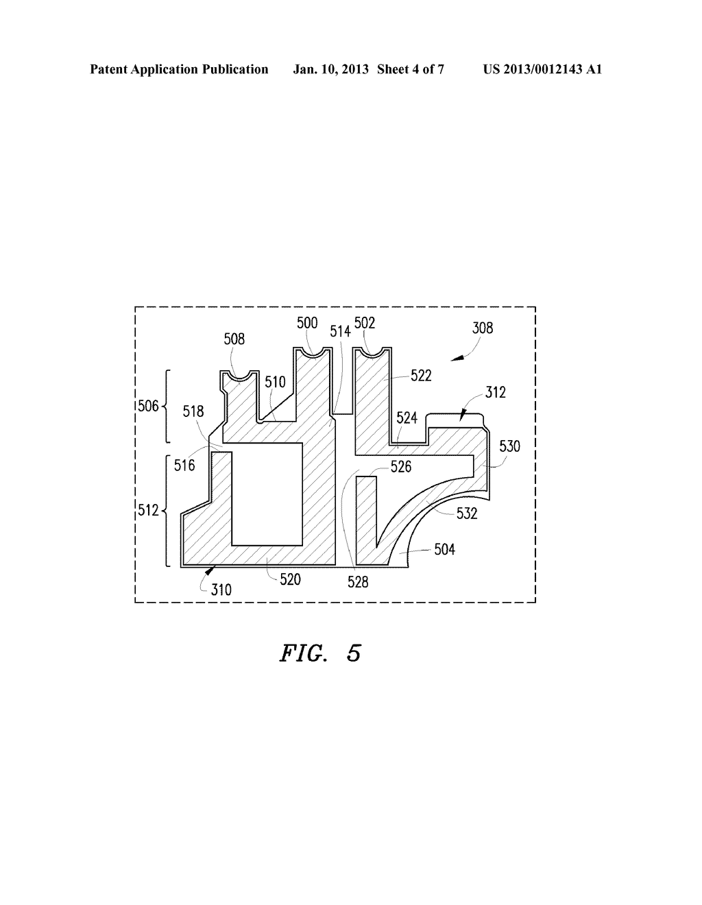 Method of Controlling a Plurality of Internal Antennas in a Mobile     Communication Device - diagram, schematic, and image 05