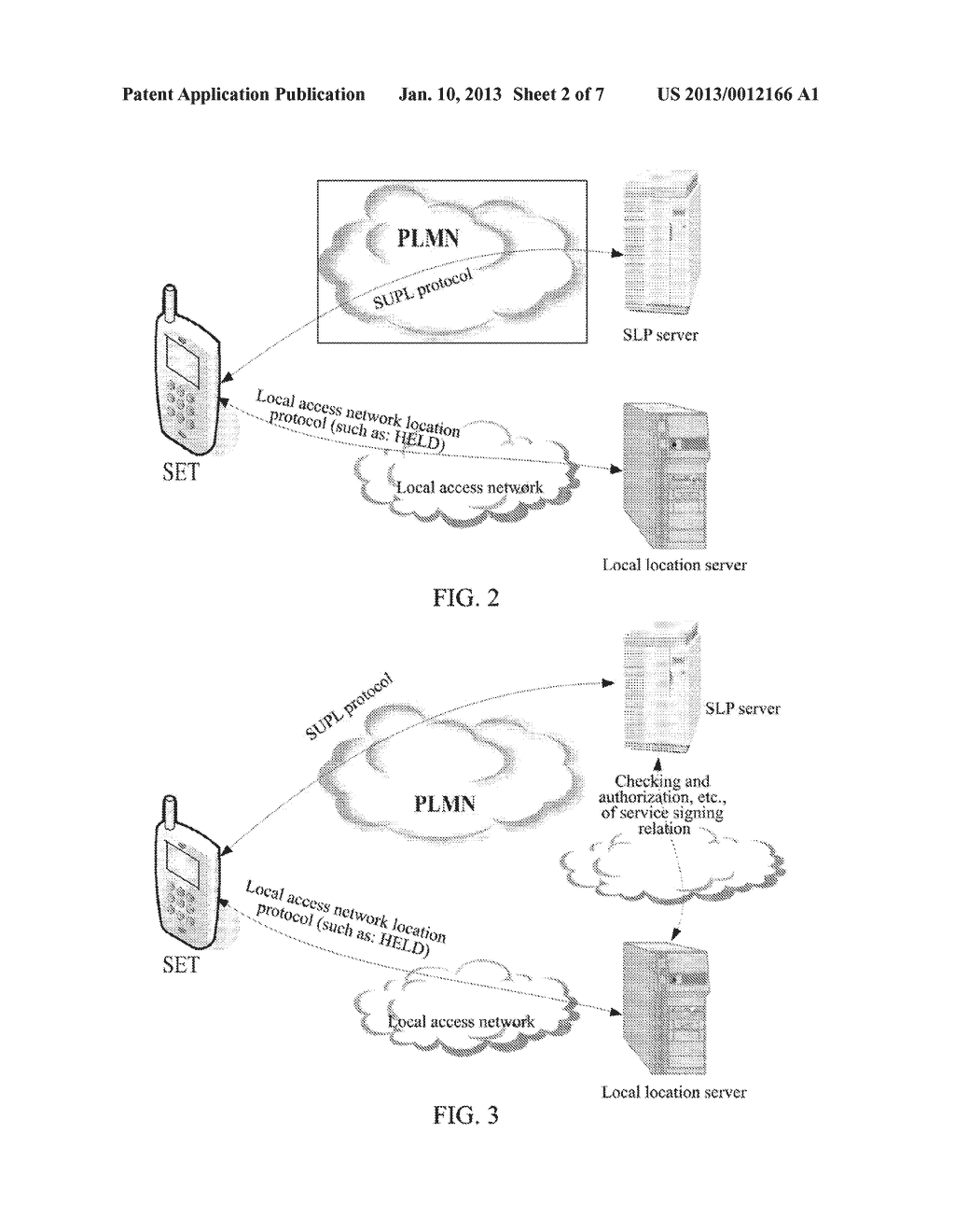 Location Method, Device and System for Secure User Plane Location Enabled     Terminal - diagram, schematic, and image 03