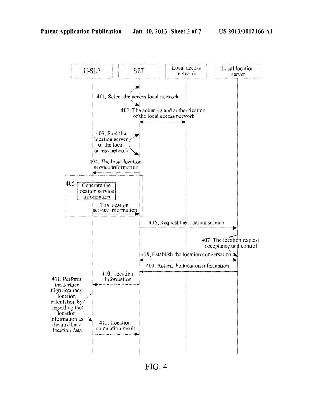 Location Method, Device and System for Secure User Plane Location Enabled     Terminal - diagram, schematic, and image 04