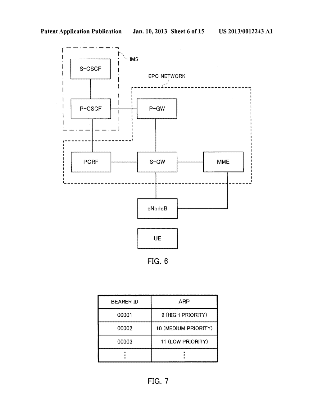 MOBILE COMMUNICATION METHOD, CALL CONTROL NODE, PRIORITY CONTROL NODE AND     MOBILITY MANAGEMENT NODE - diagram, schematic, and image 07