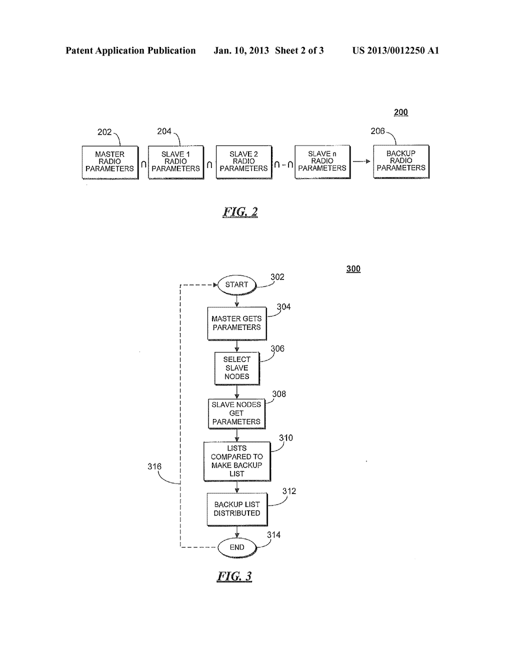 SYSTEM AND METHOD FOR MAINTAINING A BACKUP RADIO OPERATING PARAMETER LIST     IN A SECONDARY USE COMMUNICATION SYSTEM - diagram, schematic, and image 03