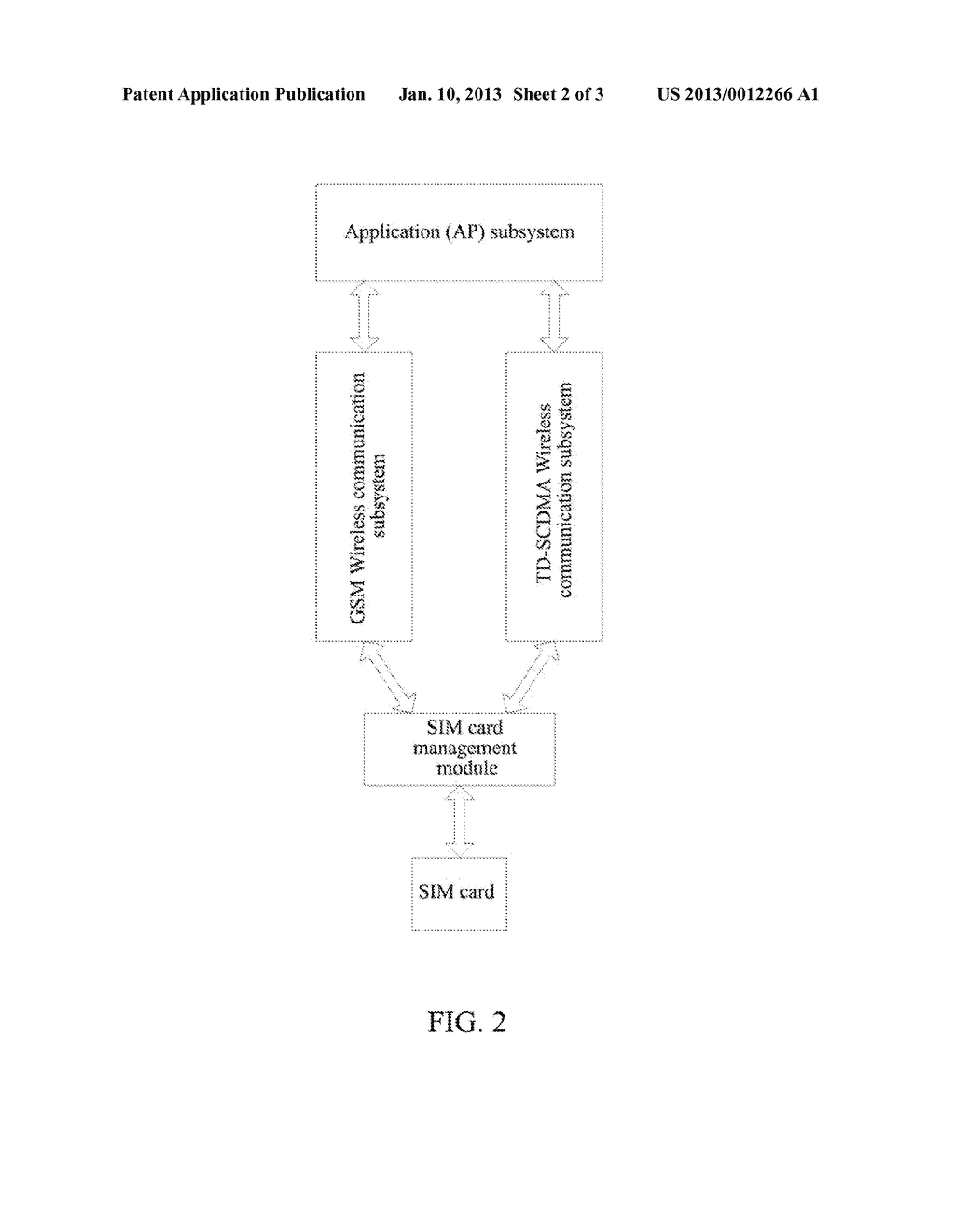 Method and Apparatus for a Dual-Network Terminal to Perform Communication - diagram, schematic, and image 03