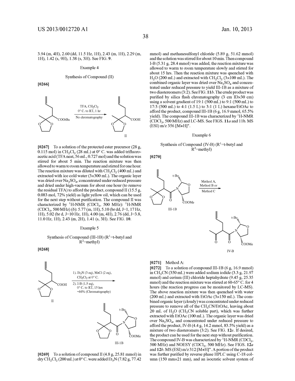 TOTAL SYNTHESIS OF SALINOSPORAMIDE A AND ANALOGS THEREOF - diagram, schematic, and image 100