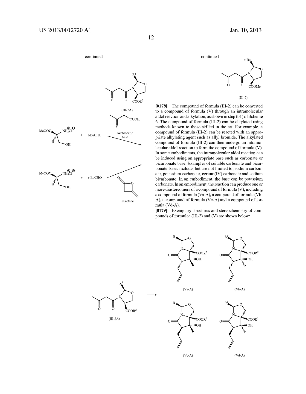 TOTAL SYNTHESIS OF SALINOSPORAMIDE A AND ANALOGS THEREOF - diagram, schematic, and image 74