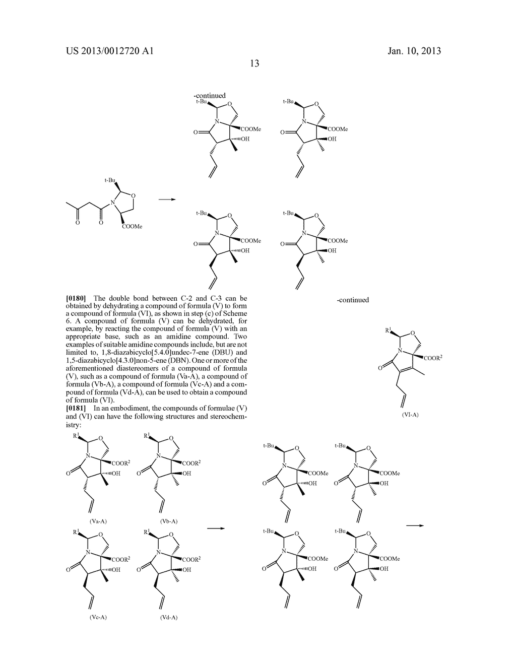 TOTAL SYNTHESIS OF SALINOSPORAMIDE A AND ANALOGS THEREOF - diagram, schematic, and image 75