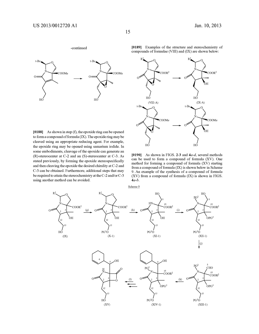TOTAL SYNTHESIS OF SALINOSPORAMIDE A AND ANALOGS THEREOF - diagram, schematic, and image 77