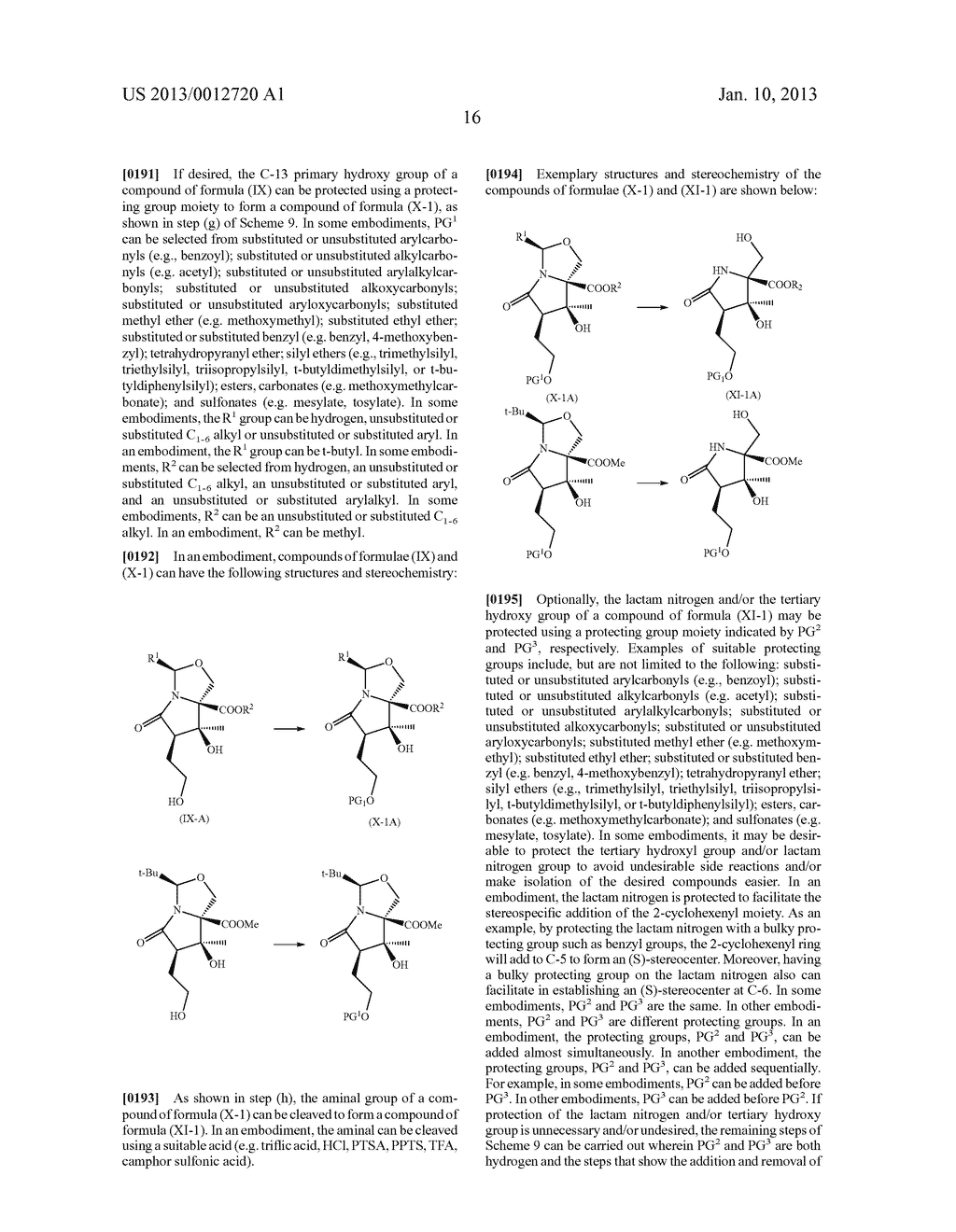 TOTAL SYNTHESIS OF SALINOSPORAMIDE A AND ANALOGS THEREOF - diagram, schematic, and image 78