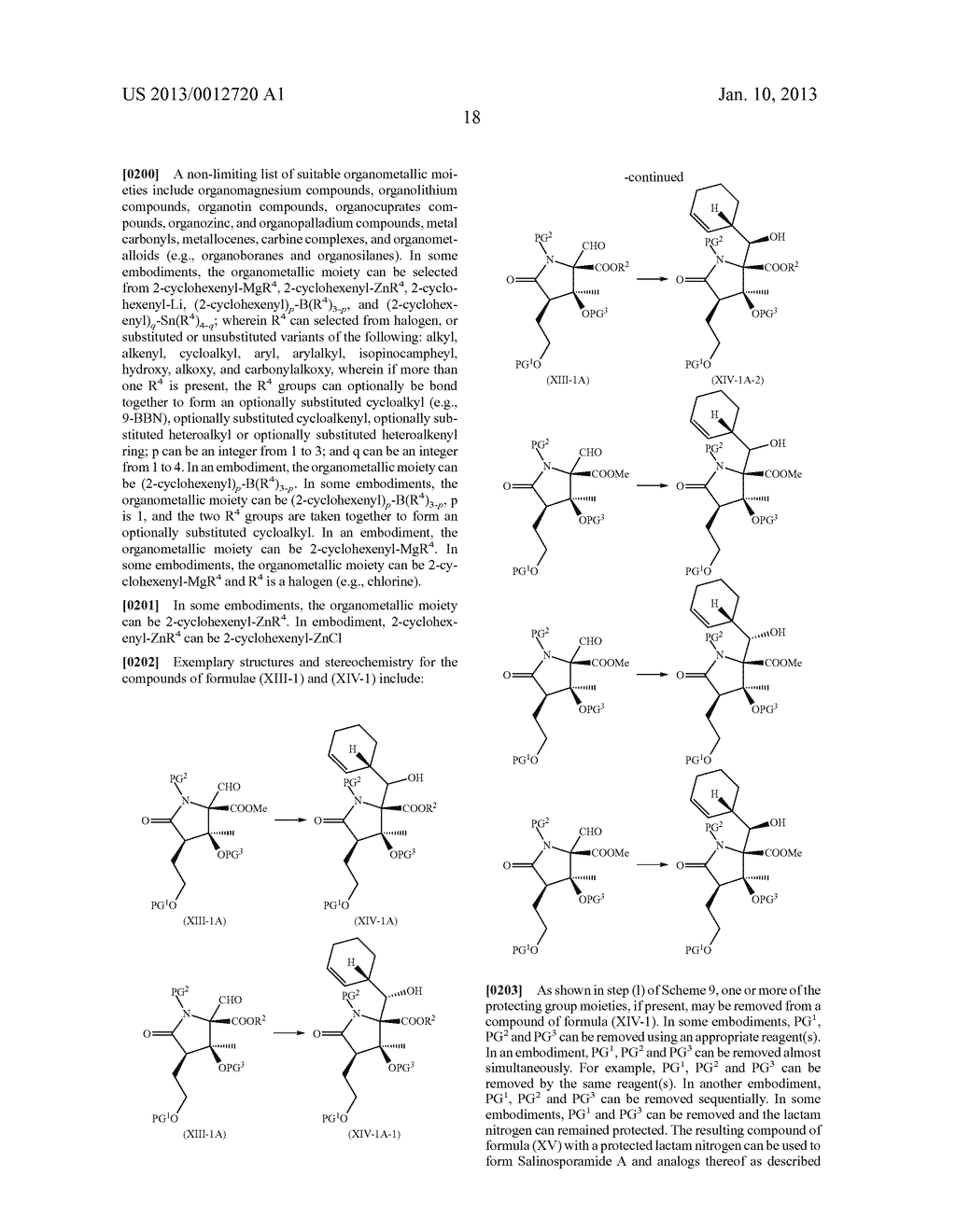TOTAL SYNTHESIS OF SALINOSPORAMIDE A AND ANALOGS THEREOF - diagram, schematic, and image 80