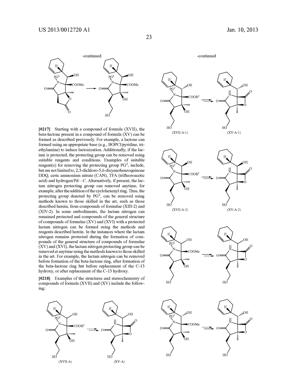 TOTAL SYNTHESIS OF SALINOSPORAMIDE A AND ANALOGS THEREOF - diagram, schematic, and image 85