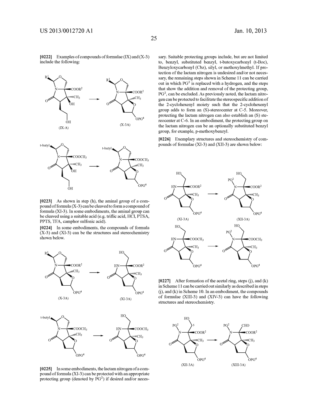TOTAL SYNTHESIS OF SALINOSPORAMIDE A AND ANALOGS THEREOF - diagram, schematic, and image 87
