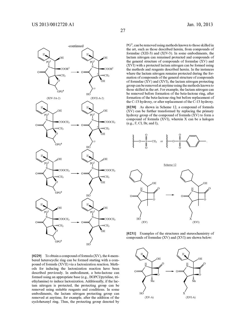 TOTAL SYNTHESIS OF SALINOSPORAMIDE A AND ANALOGS THEREOF - diagram, schematic, and image 89